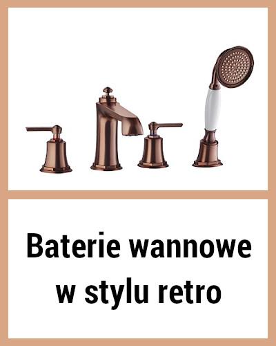 baterie wannowe retro